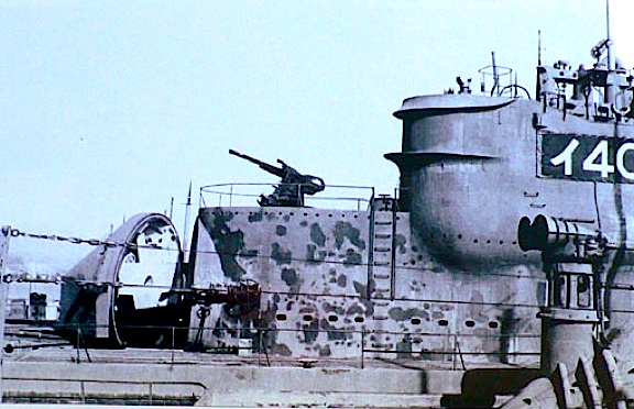 американская подводная лодка в японии