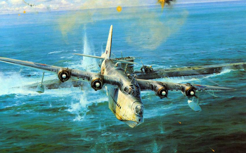 бой подводной лодки с подводной лодкой