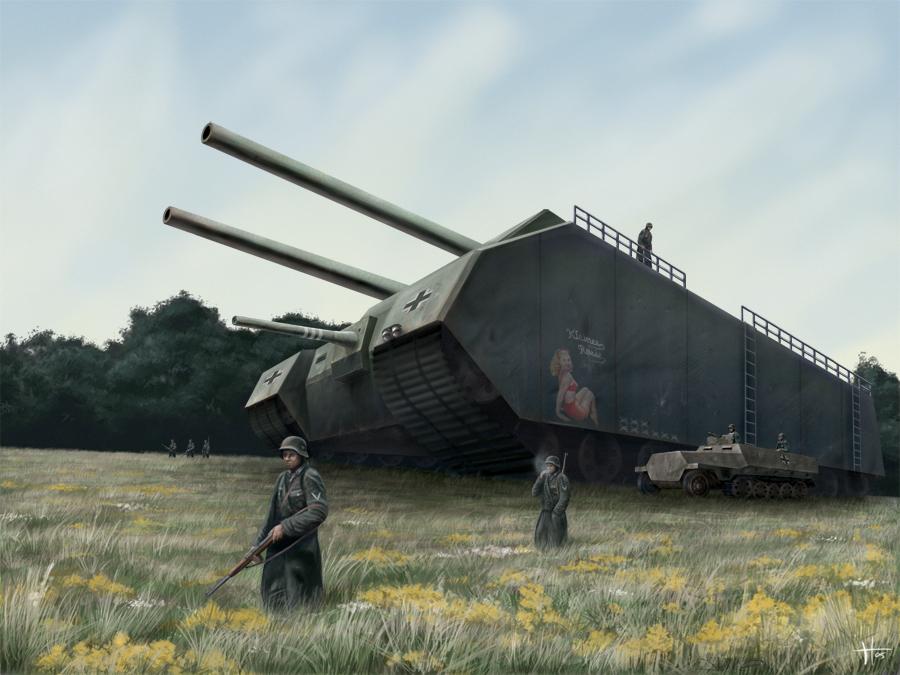 Самый большой немецкий танк в мире