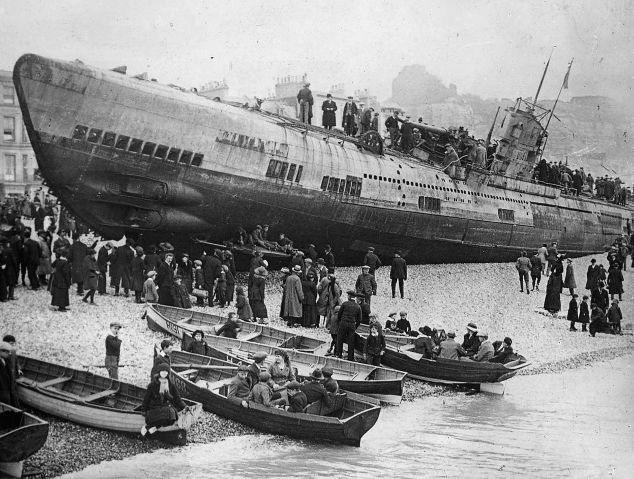 презентация подводные лодки вторая мировая война