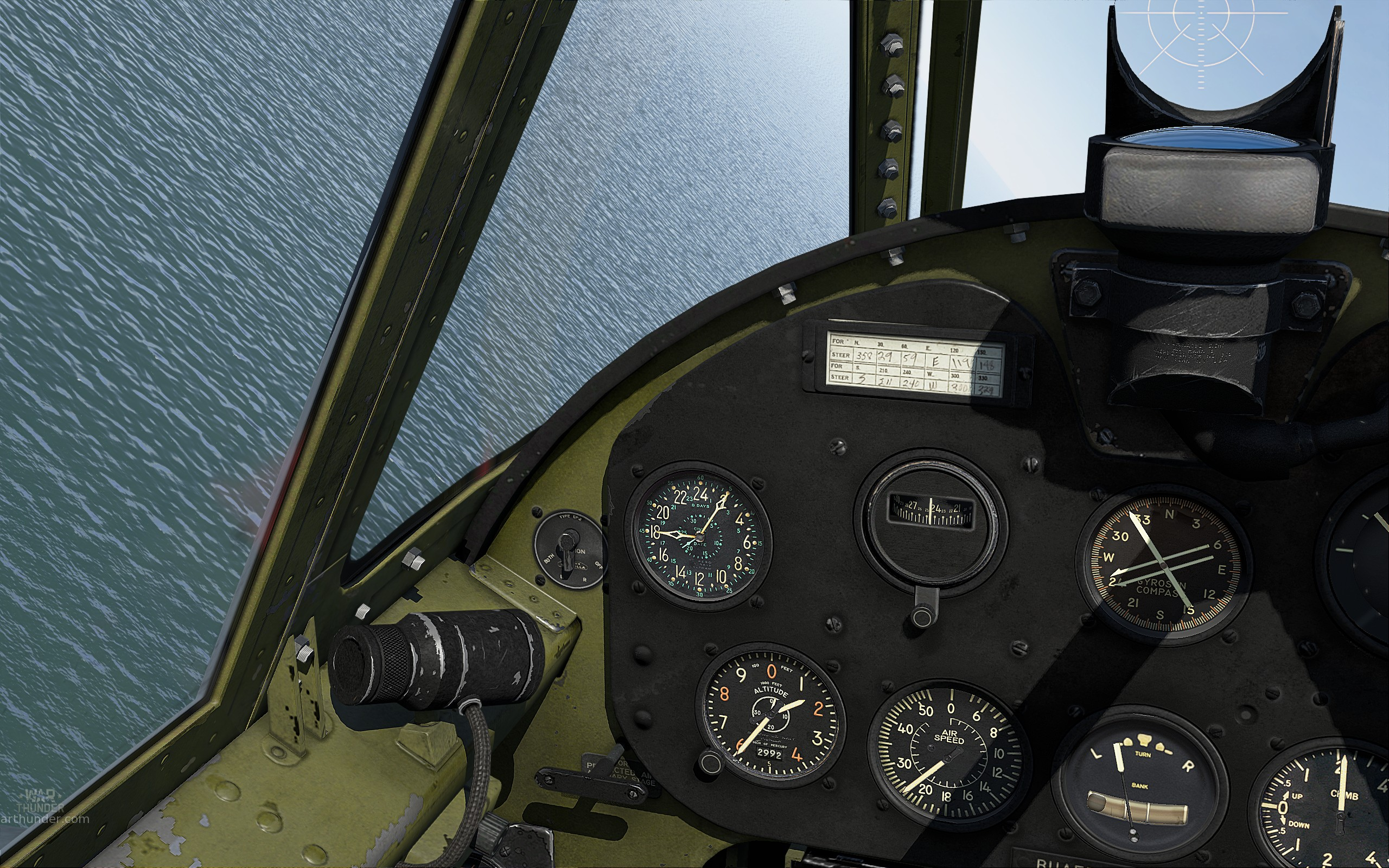 F6F-3 virtual cockpit repaint  - Simulator Battle Discussion
