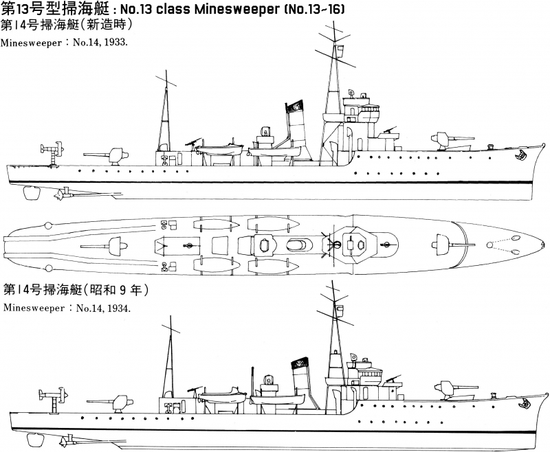 List of Japanese small ships d...