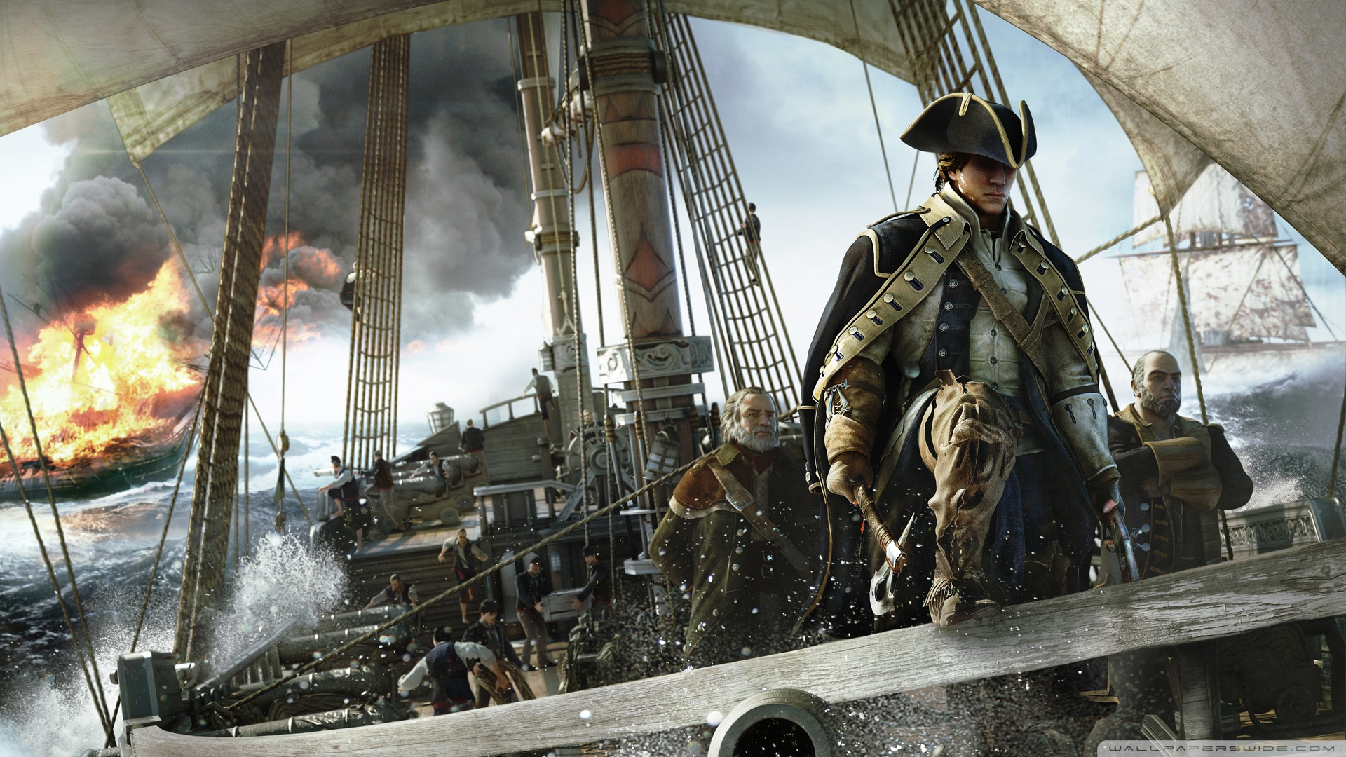 пираты карибского моря 5 обои на рабочий стол 1280х1024 № 220575 загрузить