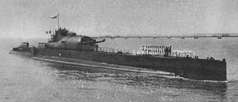 французские подводные лодки второй мировой войны