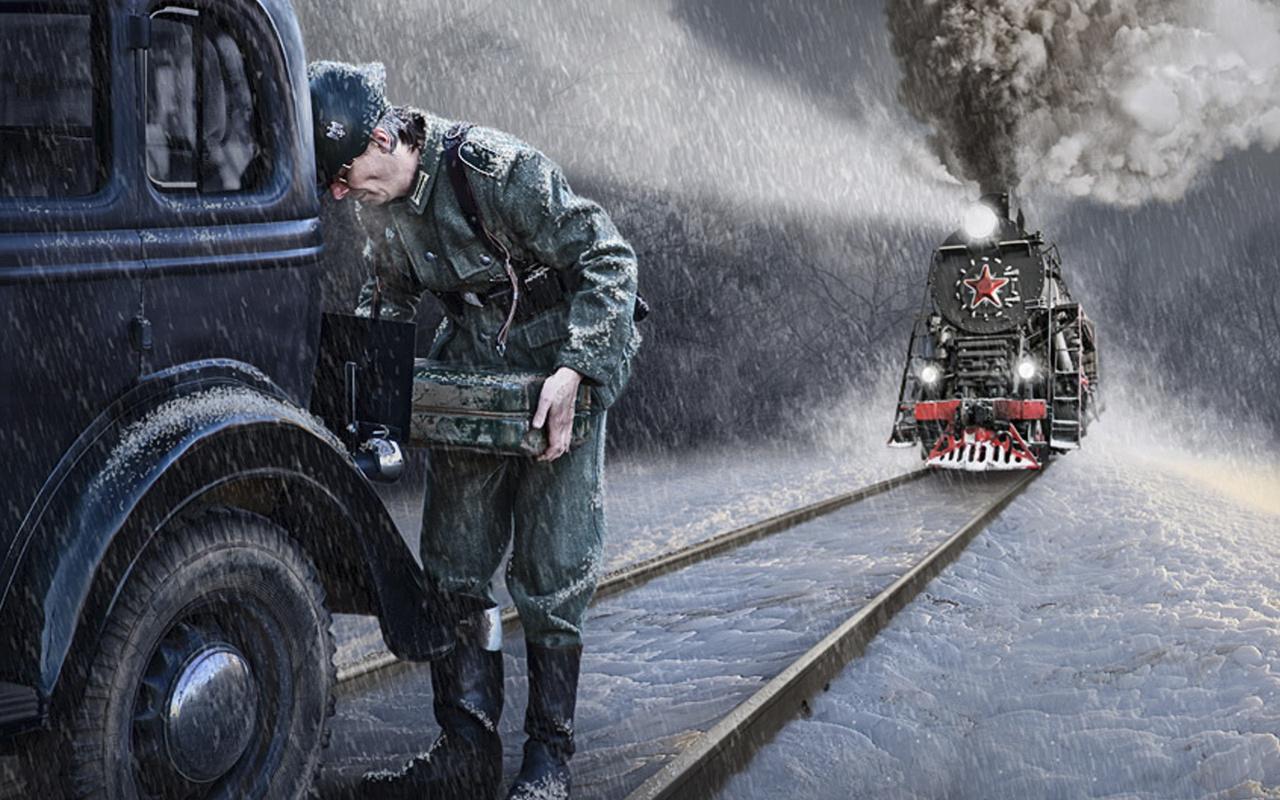 Конкурс взбесившийся паровоз