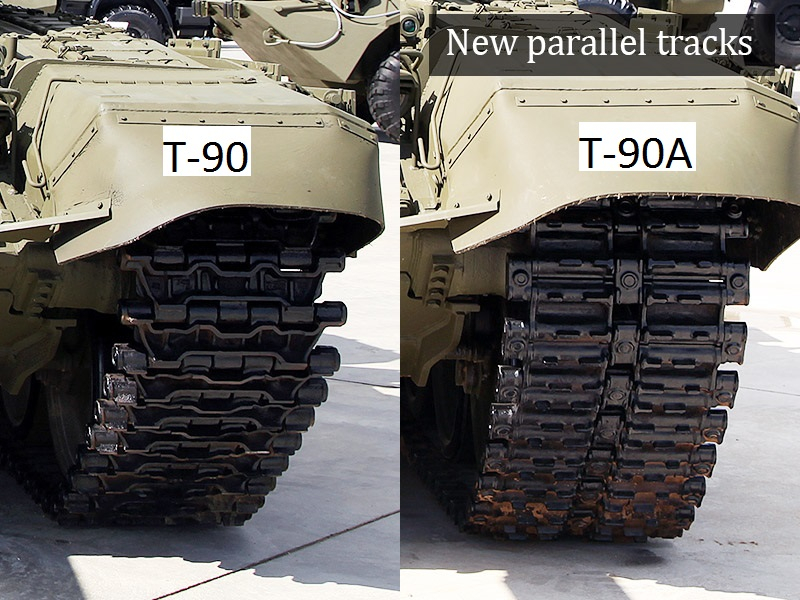 How to tell the difference between t 90 and t 90a for 90s house tracks