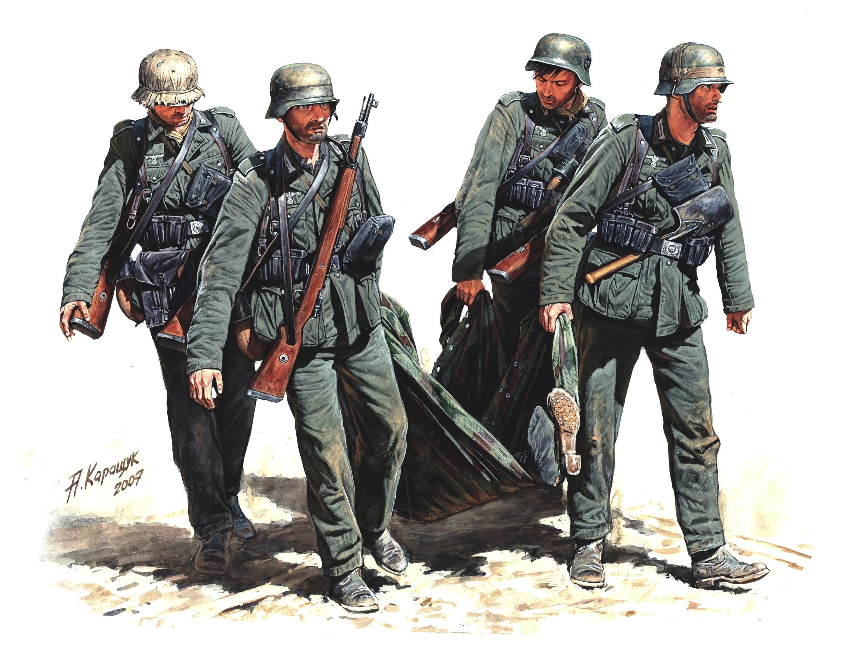 У солдата стояк 7 фотография