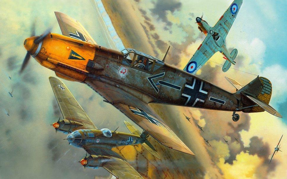 Воздушный бой  № 2372981 бесплатно