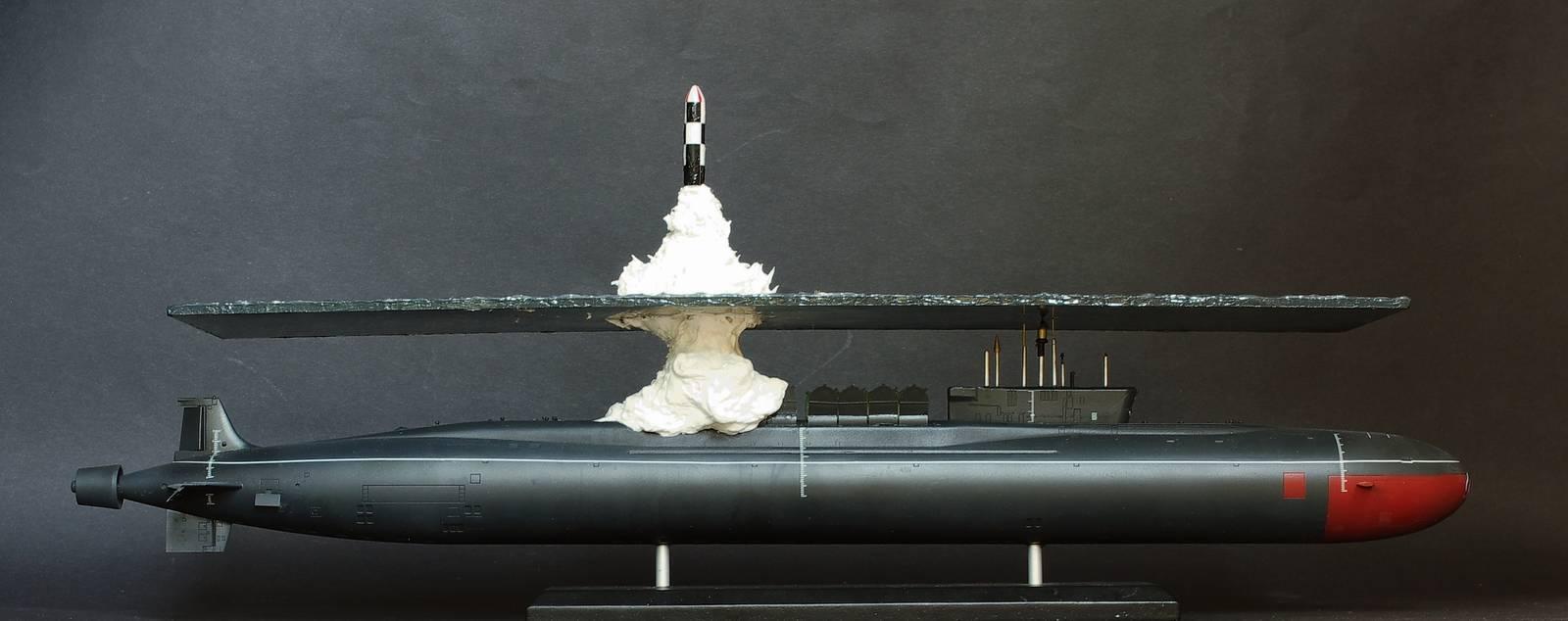 подводный запуск ракет с подводной лодки