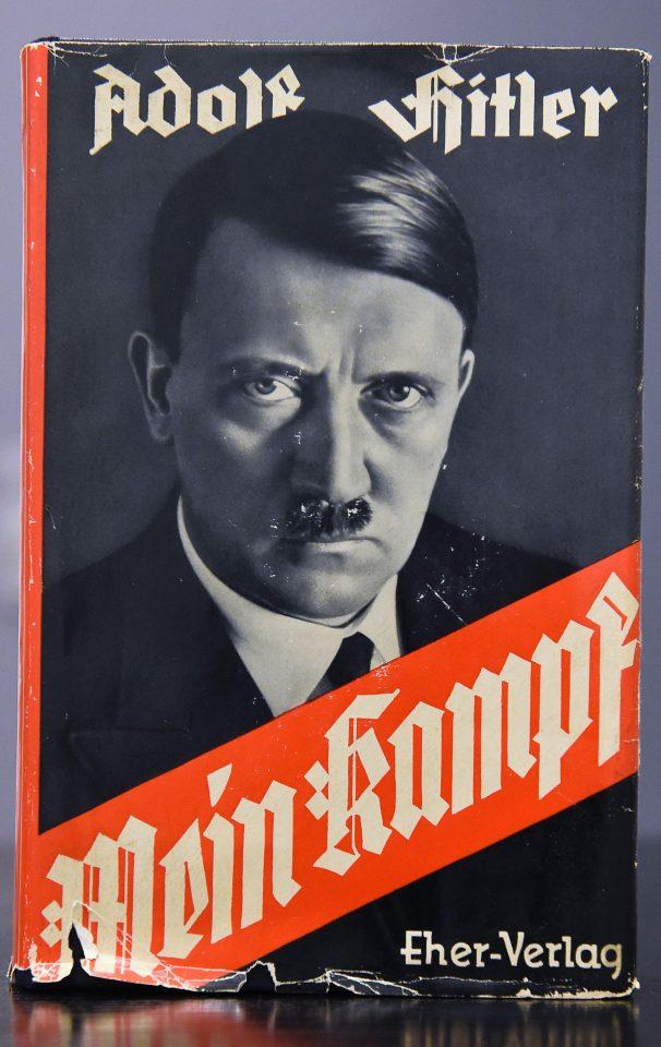 Книга адольфа гитлера mein kampf скачать