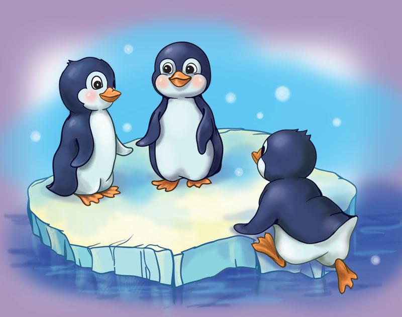 penguin finger family  the finger family  cartoon for kids  kids tv finger family