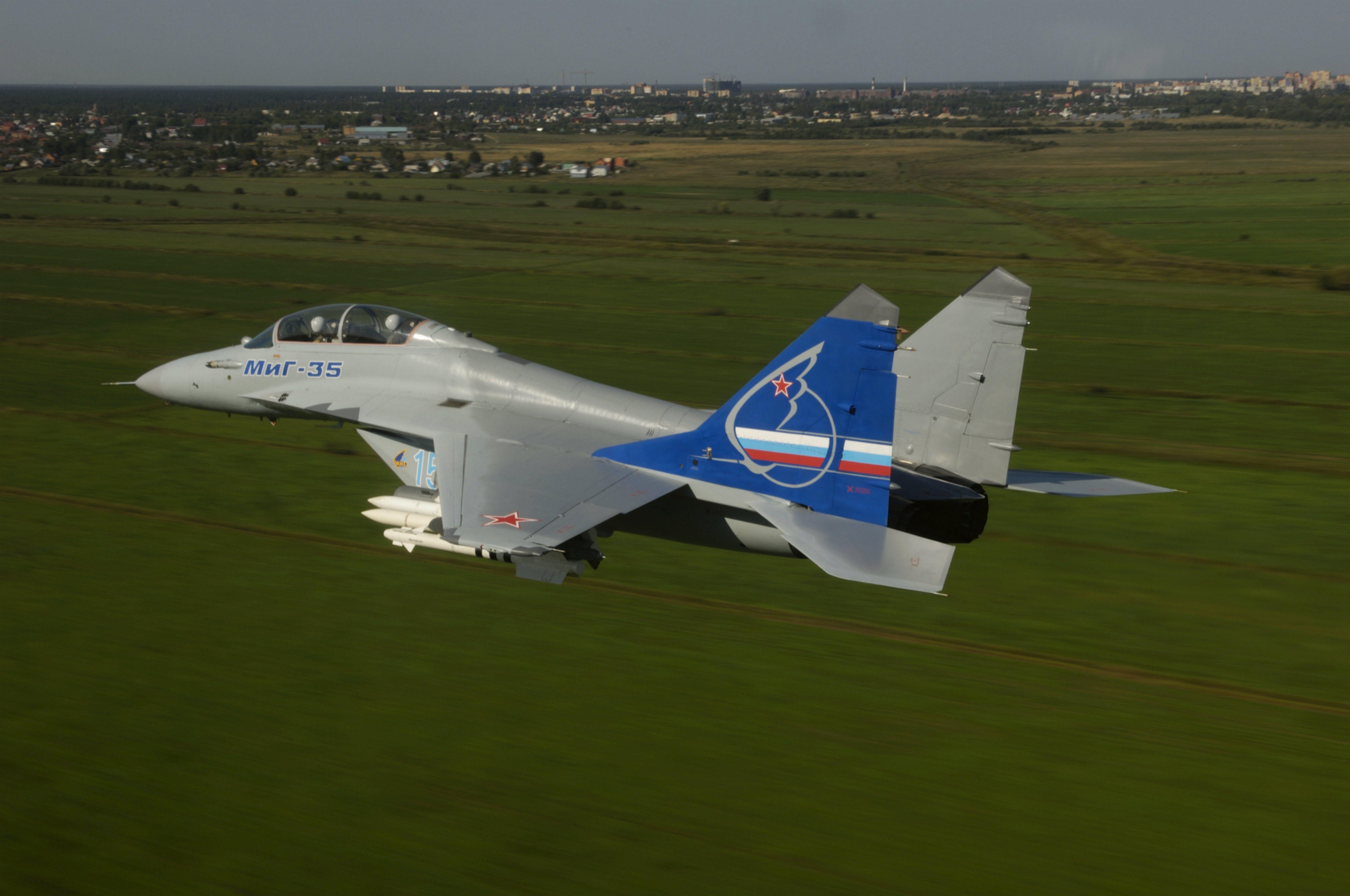 самолет ВВС РФ МиГ-35 Микоян  № 3741413 бесплатно