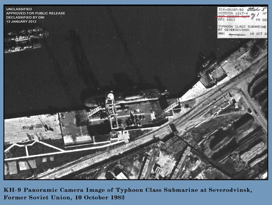 снимки подводных лодок со спутников