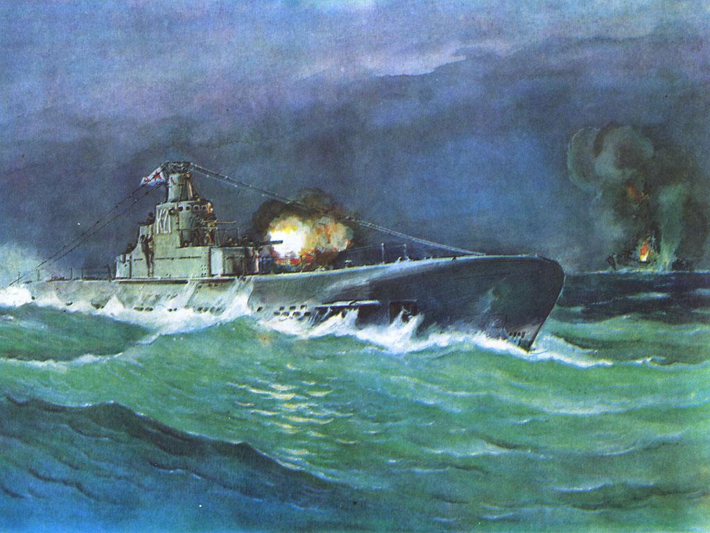 японские мультики подводные лодки