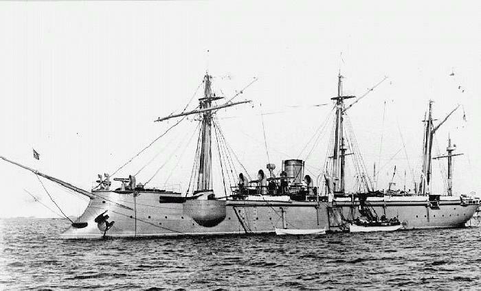 крейсер варяг и канонерская лодка кореец выдержали сильный бой