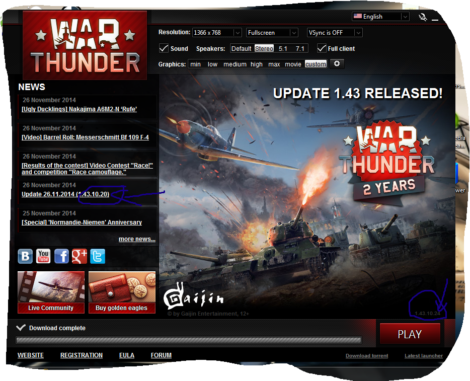 War thunder ps4 #3 - танки и самолёты (обновление 14176)