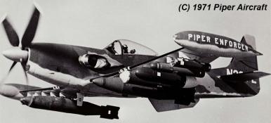 Resultado de imagen para Piper PA-48 Enforcer