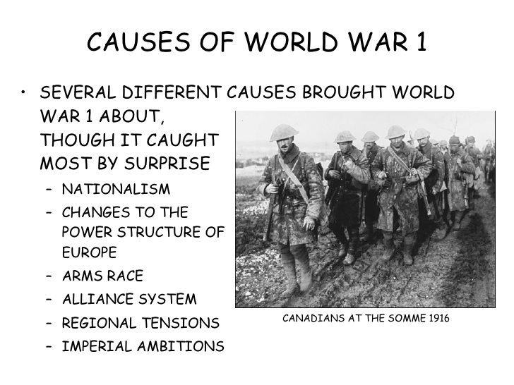 the first world war short or long term history essay World war ii had short-term and long-term effects one short-term effect was it put an end to the threat posed by the aggressive actions of the governments of germany, italy, and japan.