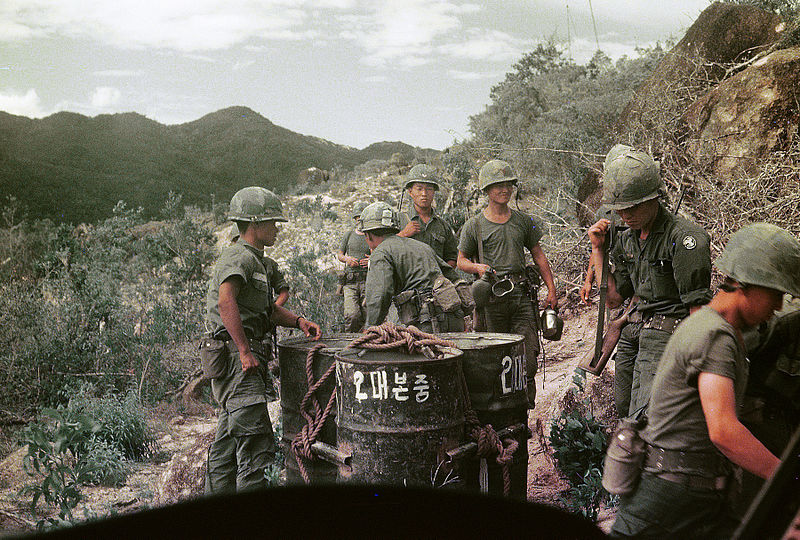 a description of the american south vietnamese troop in cambodia Fifty years ago, in march 1965, 3,500 us marines landed in south vietnam, the first american combat troops on the ground in a conflict that had been building for decades.
