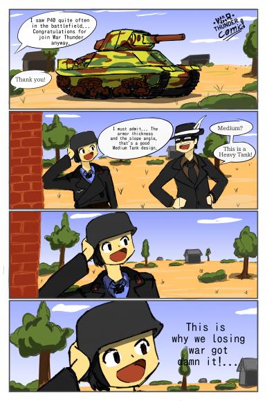 war thunder comics