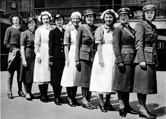 the changes in the family setting and roles of women after the end of second world war The first world war brought many changes in the and most had to rely on friends and family to help care for set up the scottish women's hospitals.
