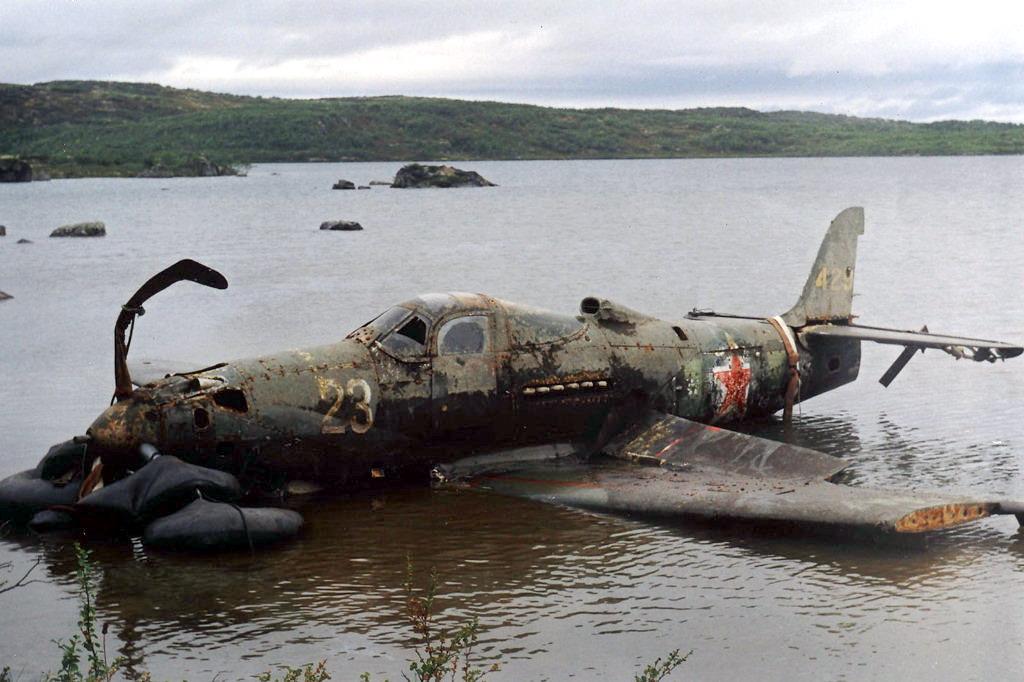 Найдено и поднято / военная техника :: самолеты :: ww2 :: дл.