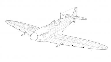 spitfire drawing. #drawing #spitfiremkix #spitfire_mkix #spitfire_mk_ix spitfire drawing y
