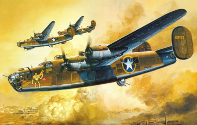Image result for b24 liberator paintings