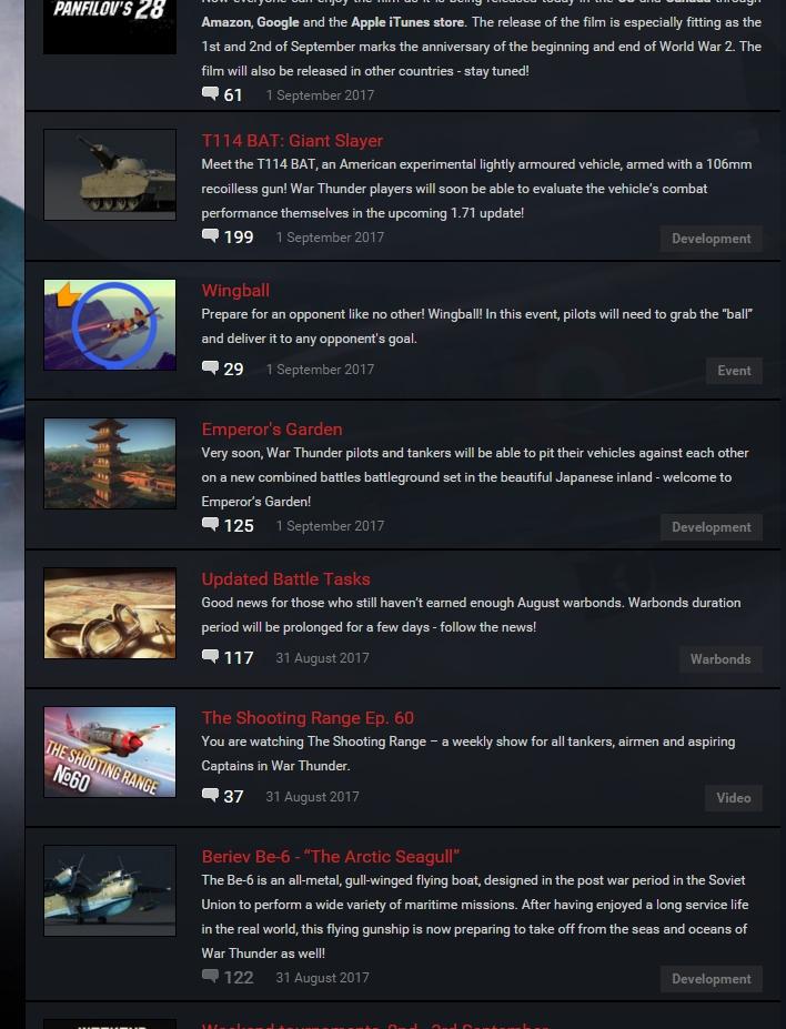 war thunder ru news