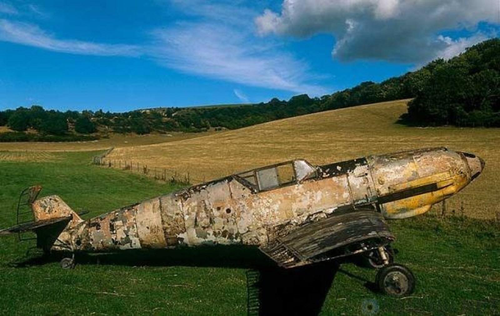 Найденные разбившиеся самолеты второй мировой войны.