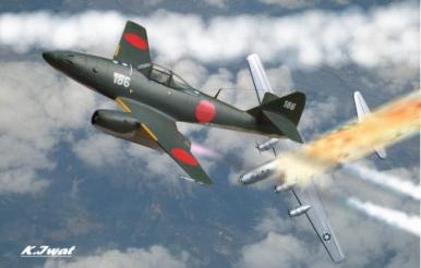 Japanese Ki-201 (