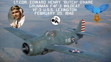 F-4F WILDCAT WW2 US NAVY USMC VF Grumman Carrier Fighter Squadron Patch