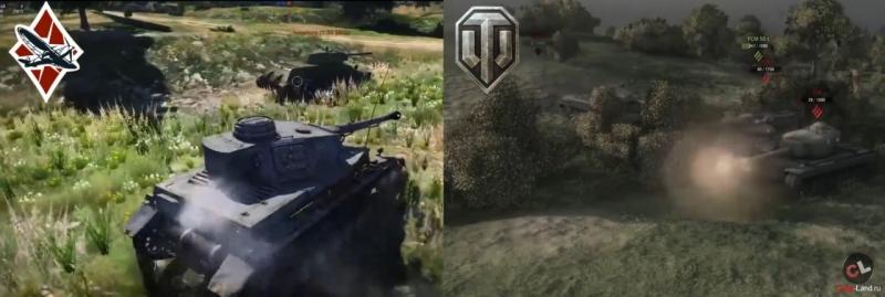 world of tanks vs war thunder сравнение