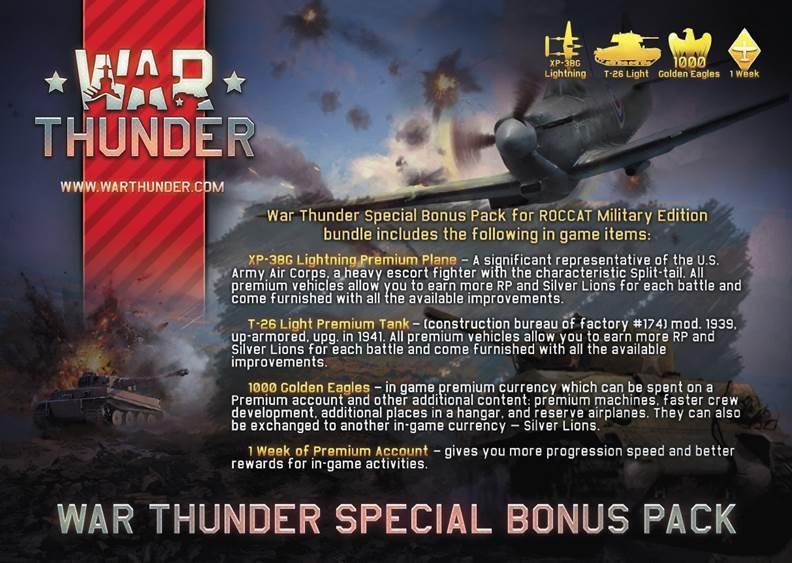 roccat war thunder