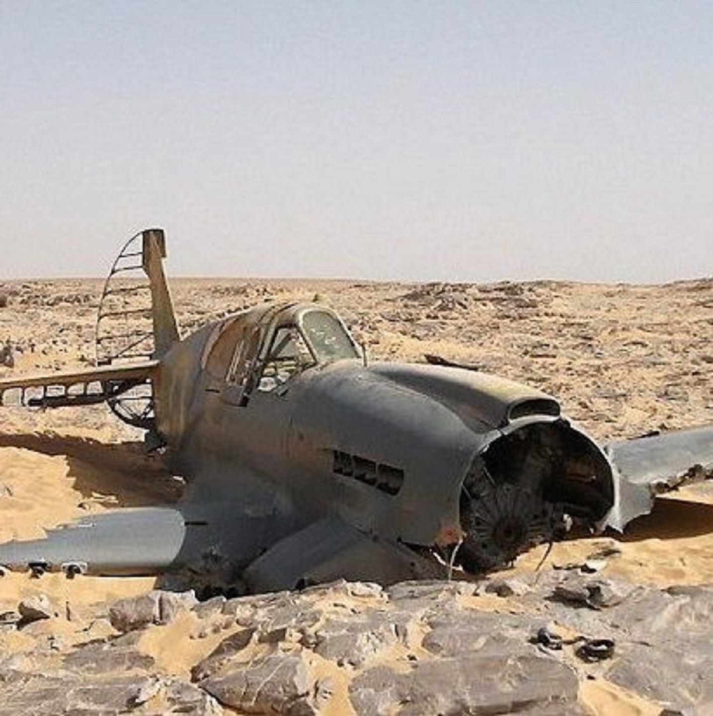 Случайно найденные самолеты времен второй мировой войны - за.